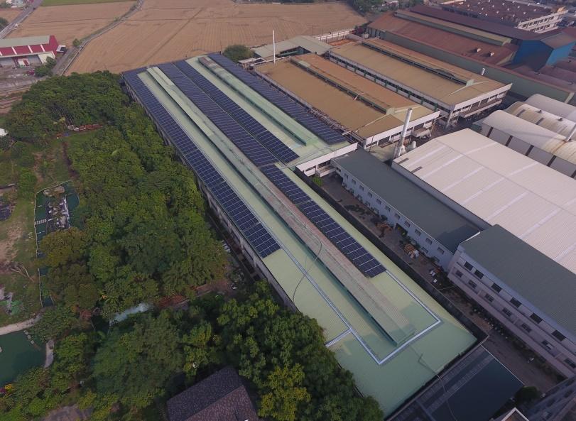 太陽能發電|太陽能板安裝|嘉義縣廠房399KW