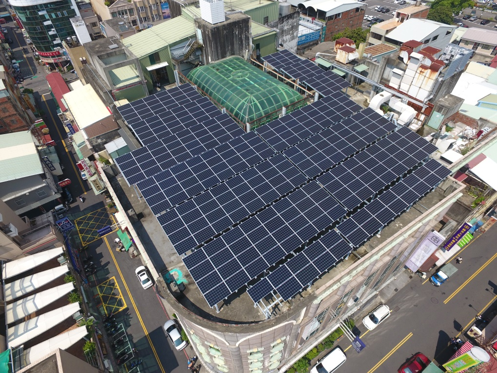 太陽能發電|太陽能板安裝|南投縣廠房99.9KW