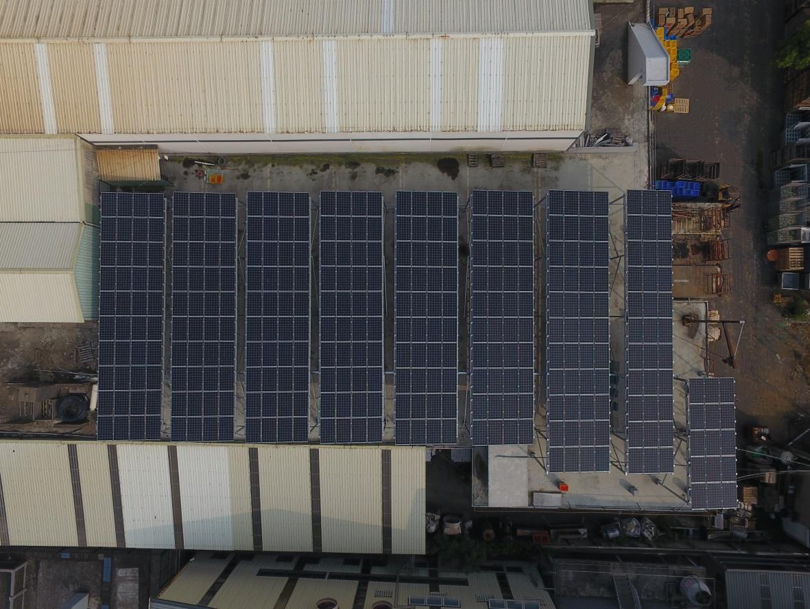 太陽能發電|太陽能板安裝|嘉義縣廠房99.6KW