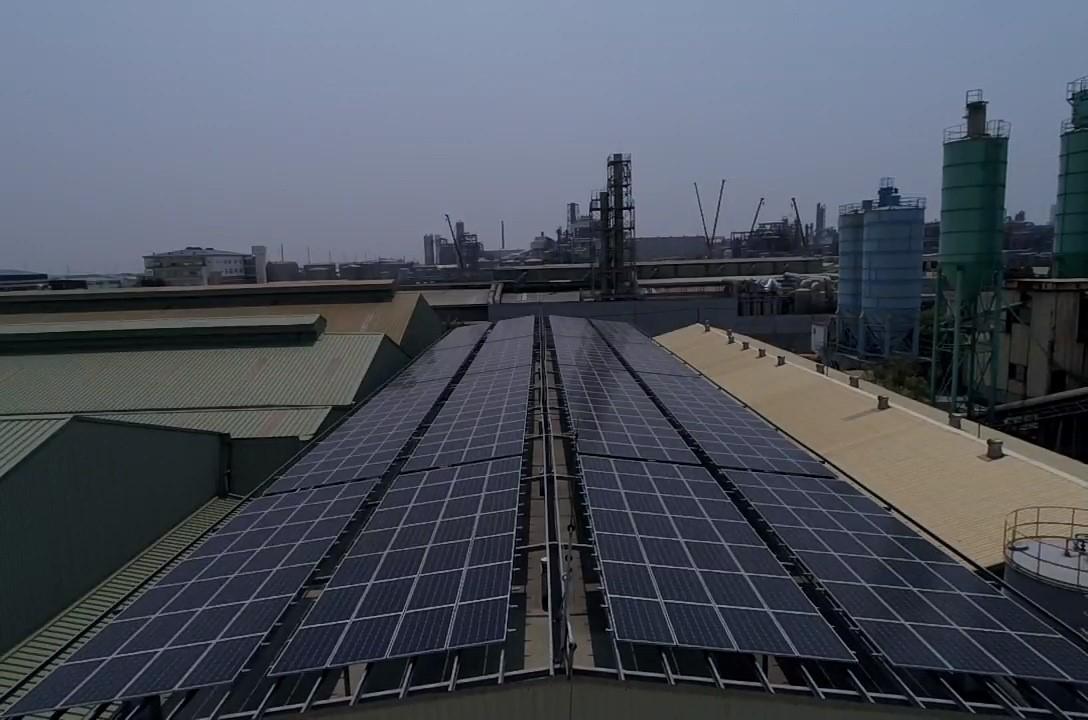 太陽能發電|太陽能板安裝|高雄市大寮區廠房201.6KW