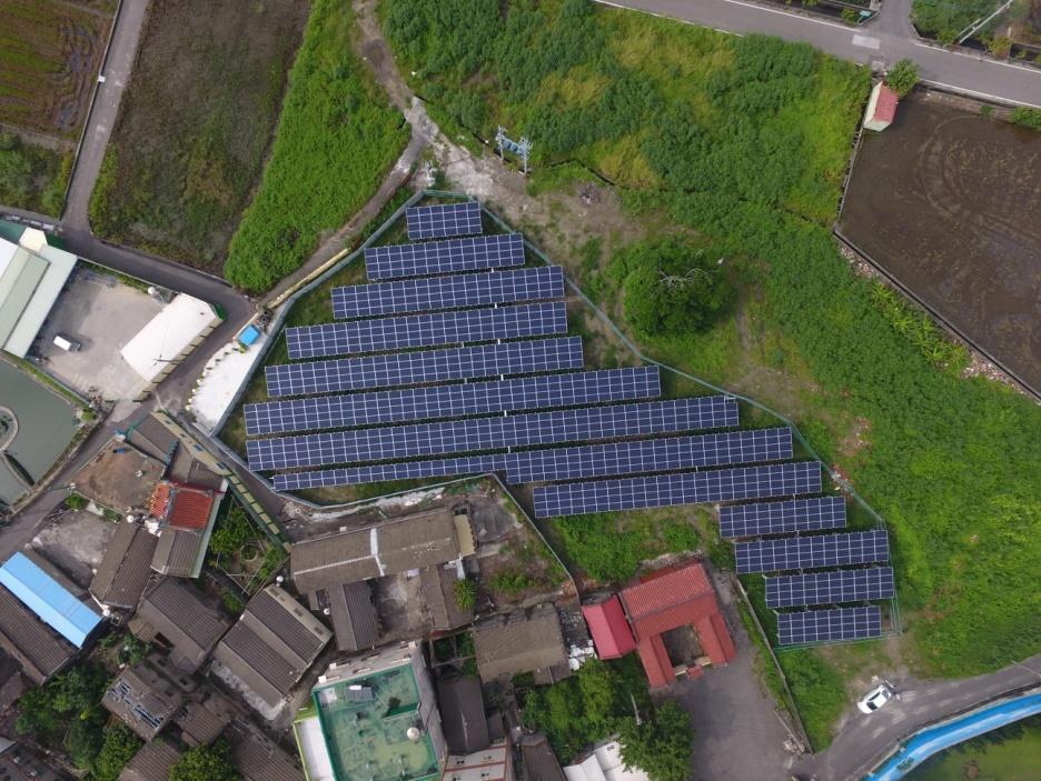 太陽能發電|農地種電|彰化縣線西鄉307.5KW