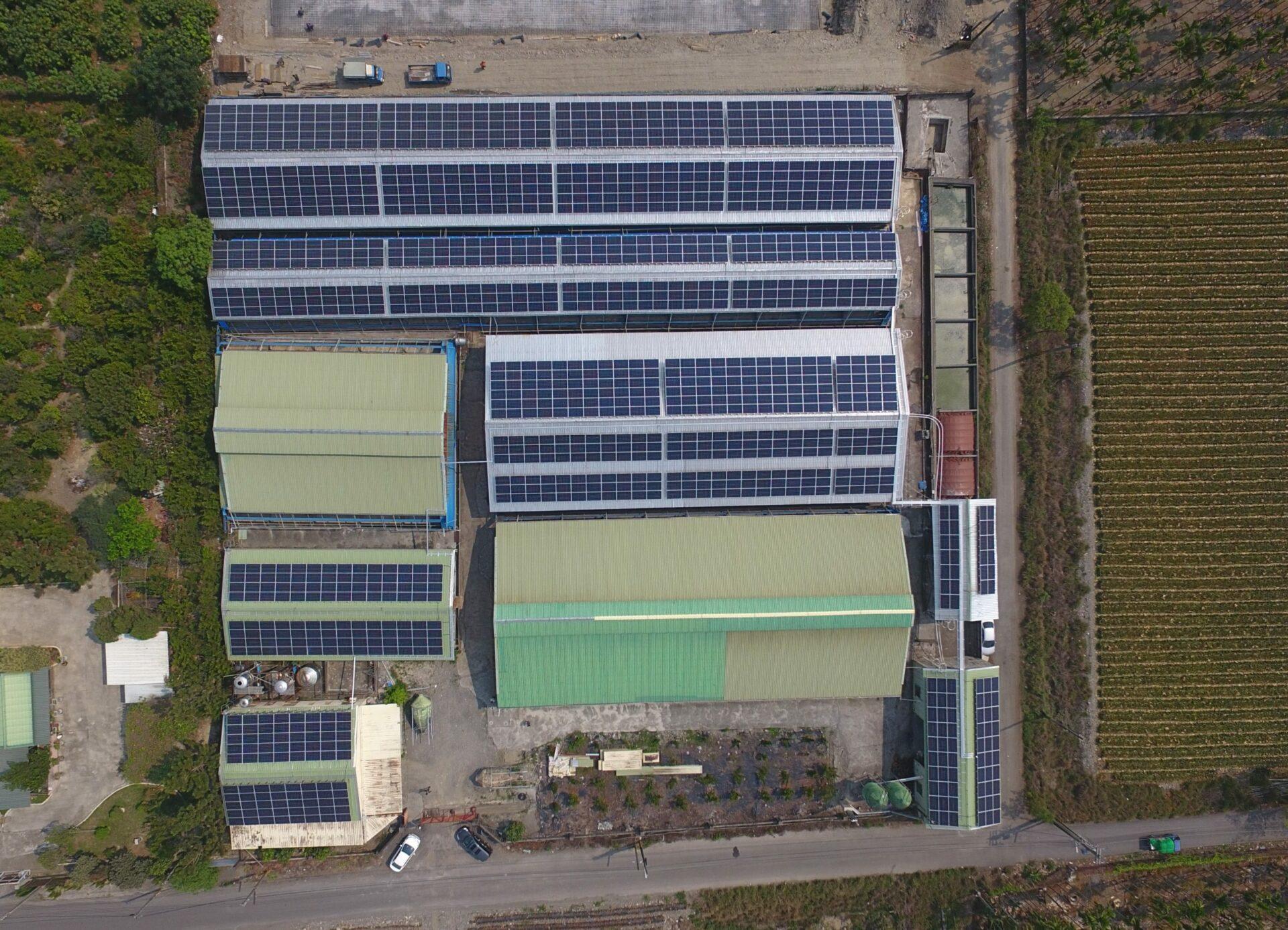 太陽能發電|太陽能板安裝|屏東縣長治鄉廠房 388.2KW