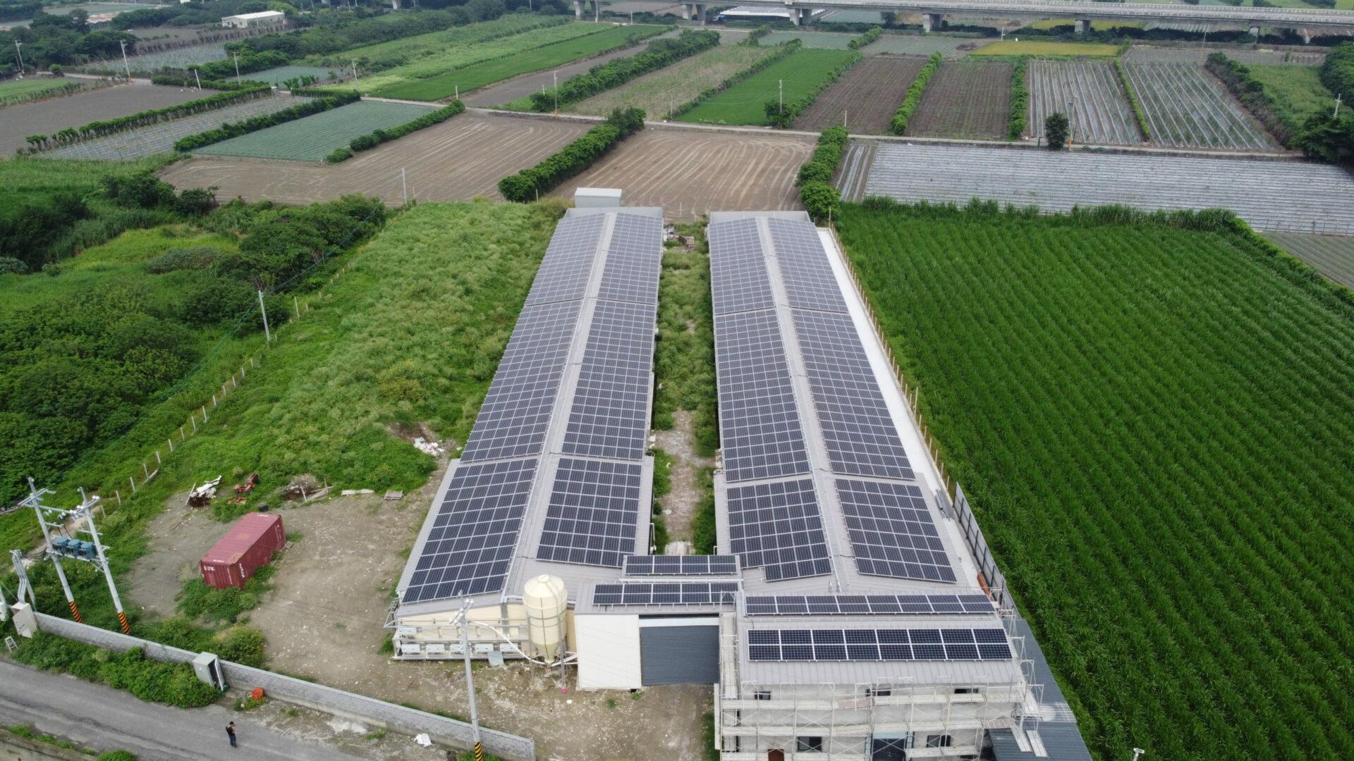 太陽能發電|太陽能板安裝|彰化縣芳苑鄉 378KW
