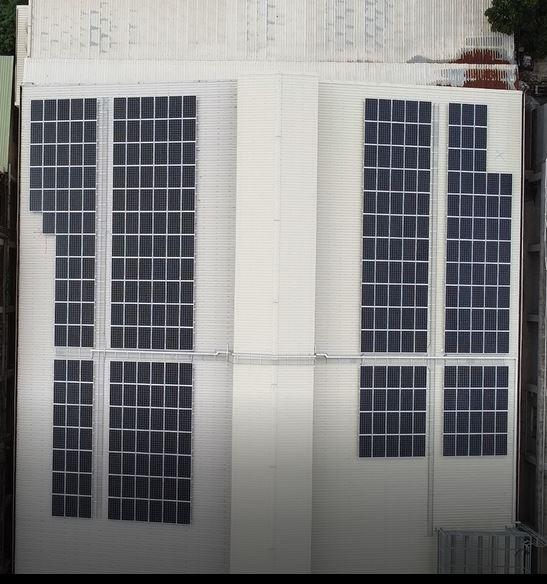 太陽能發電|太陽能板安裝|嘉義縣民雄鄉廠房99.855KW