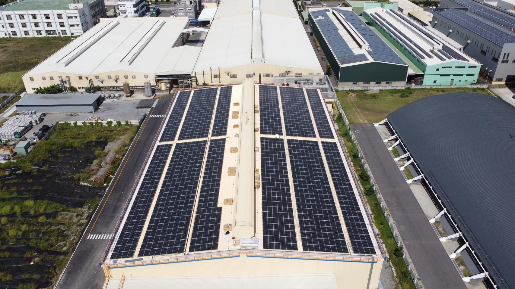 太陽能發電|太陽能板安裝|彰化縣鹿港鎮廠房499.525KW
