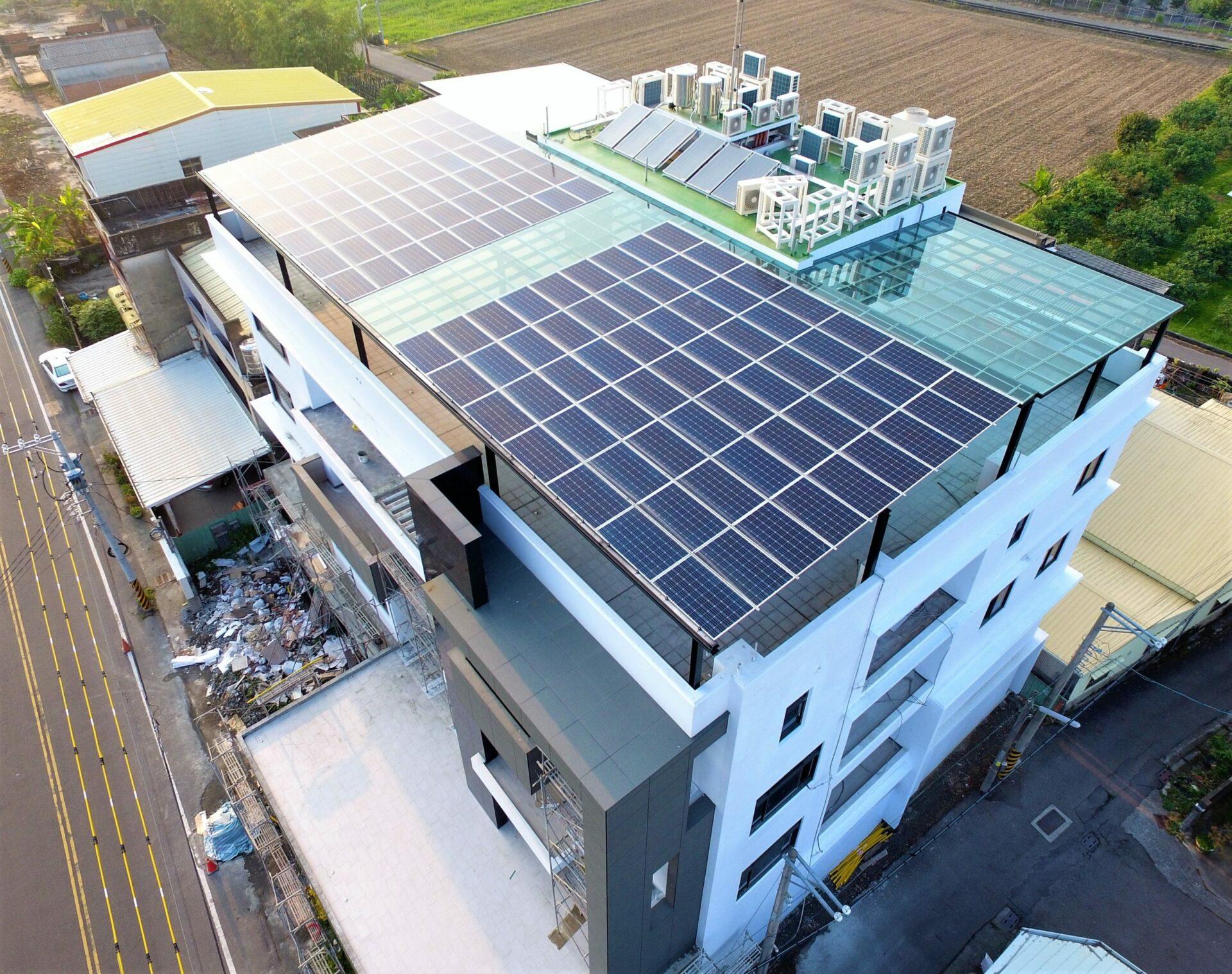 太陽能發電|太陽能板安裝|雲林縣斗六市住家39.8KW