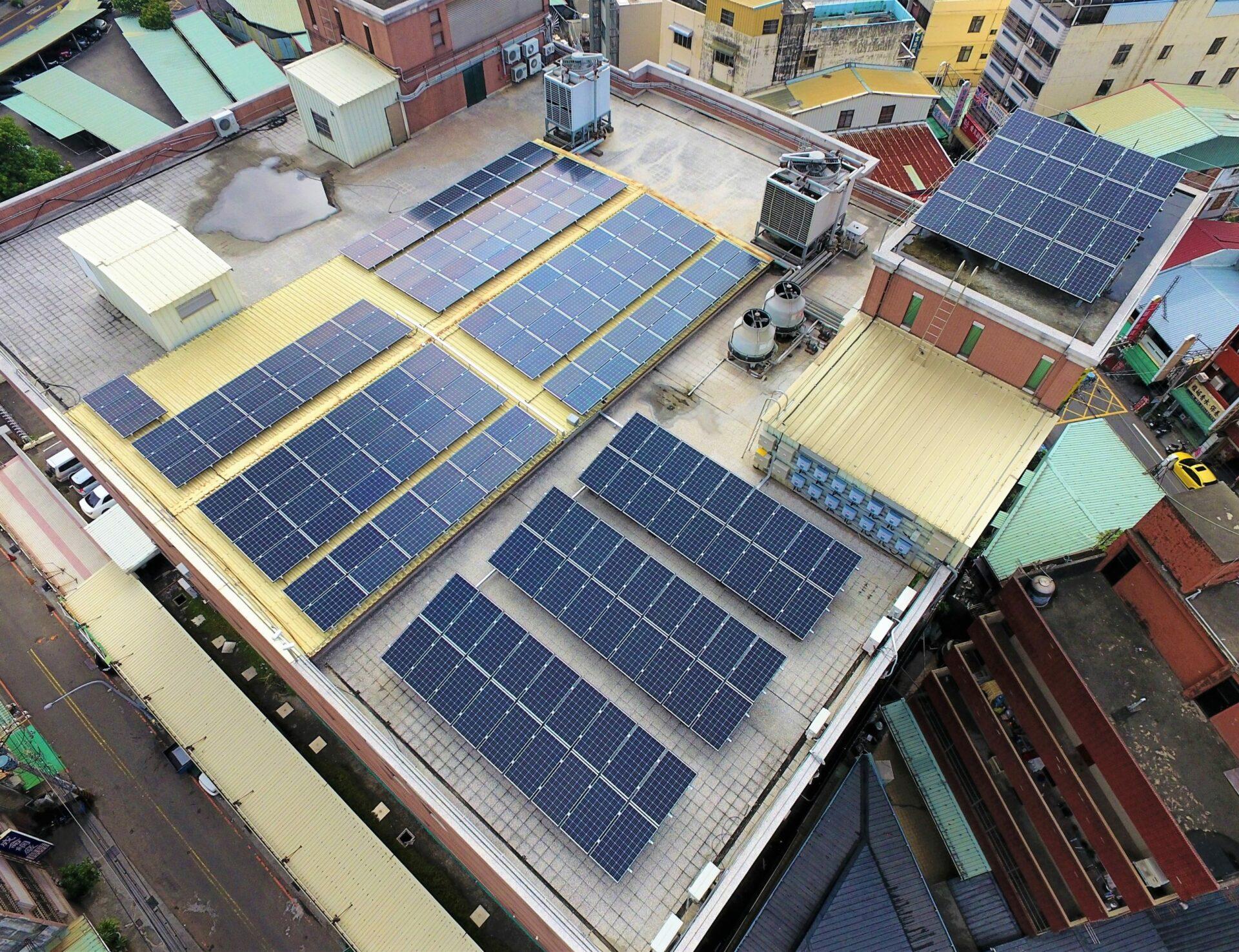 太陽能發電|太陽能板安裝|台中市太平區住家65.7KW