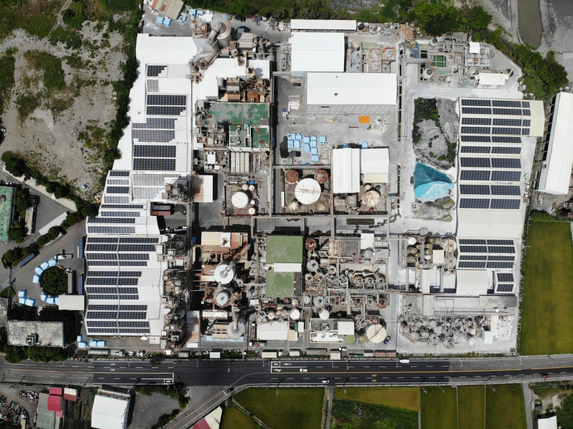 太陽能發電|太陽能板安裝|苗栗縣三義鄉廠房1064.385KW