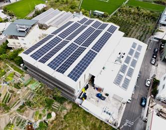 太陽能發電|太陽能板安裝|台中市霧峰區農場187.2KW
