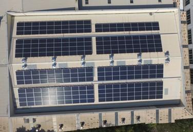 太陽能發電|太陽能板安裝|台中市大甲區廠房77.1KW