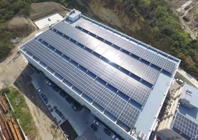 太陽能發電 太陽能板安裝 苗栗縣通霄鎮廠房459.6KW