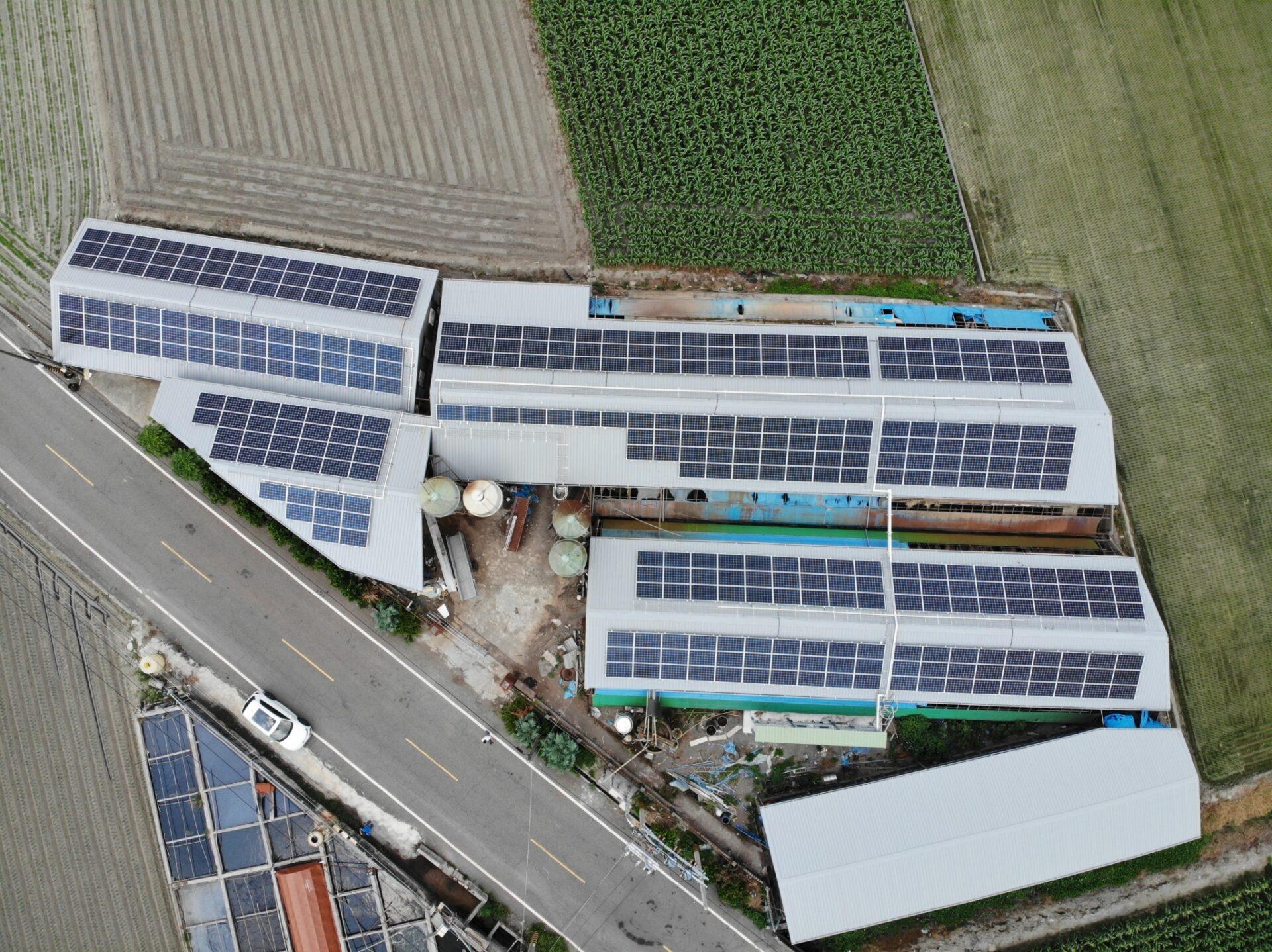 太陽能發電|太陽能板安裝|雲林縣土庫鎮廠房115.84KW