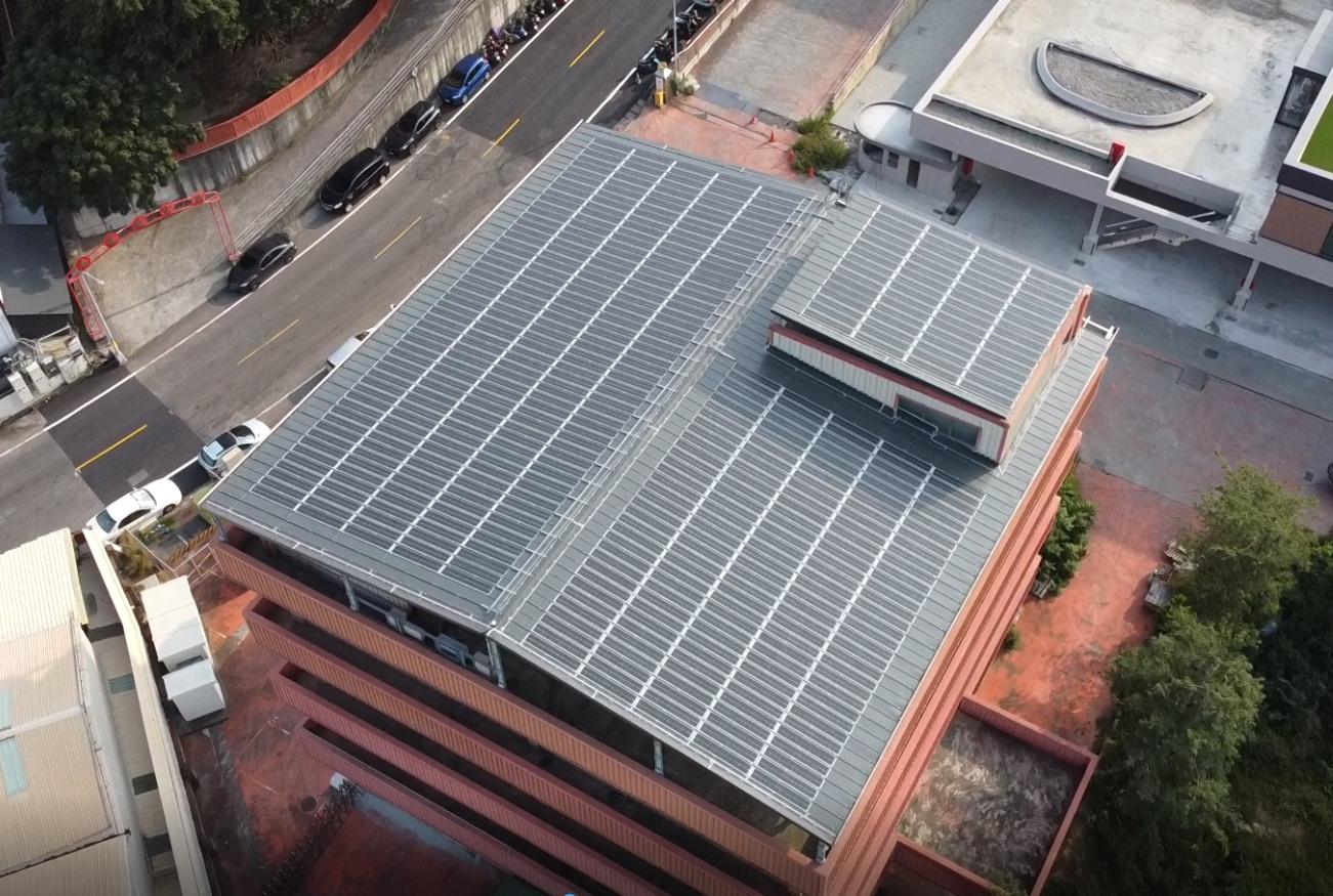 太陽能發電|太陽能板安裝|南投縣南投市廠房62.23KW