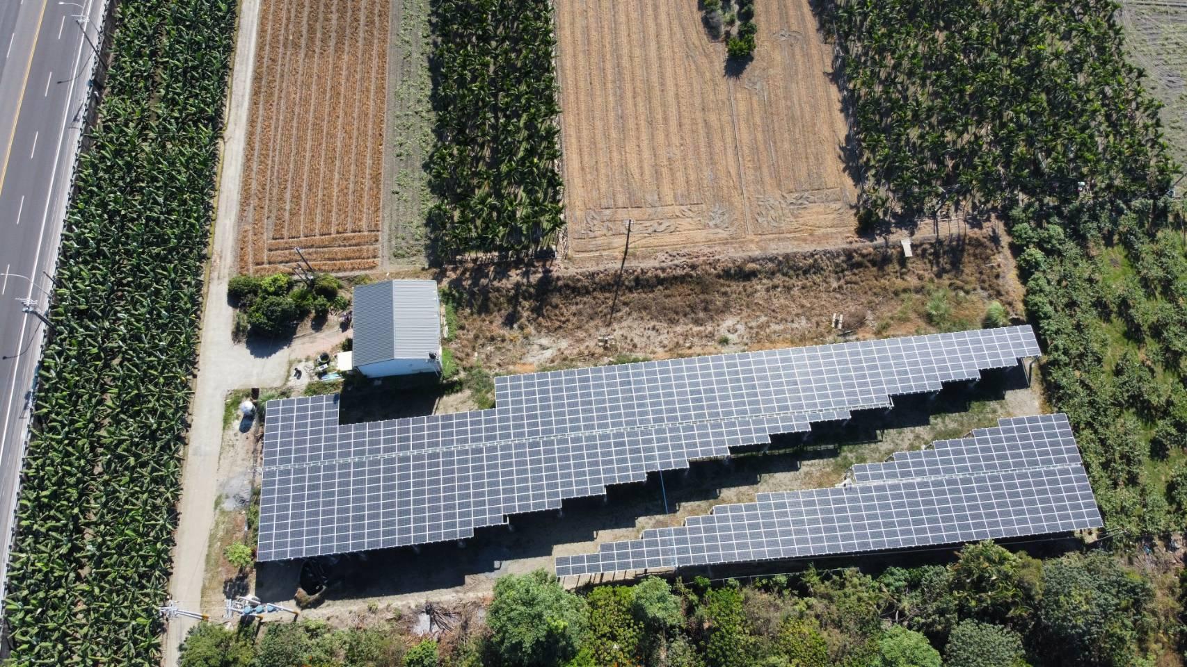 太陽能發電|太陽能板安裝|屏東上烏龍段地面型308.22KW